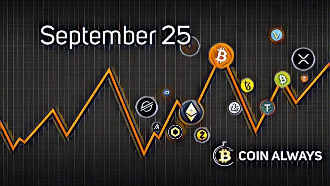 september 25 crypto